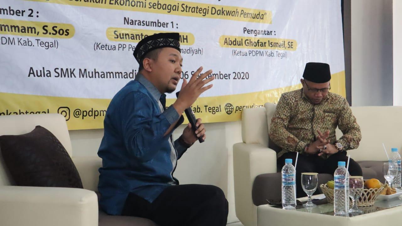 Pemuda Muhammadiyah Kabupaten Tegal Diskusi Bersama Cak Nanto