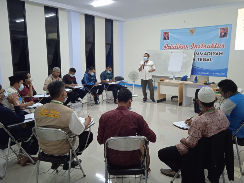 Pelatihan Instruktur Pemuda Muhammadiyah Kabupaten Tegal